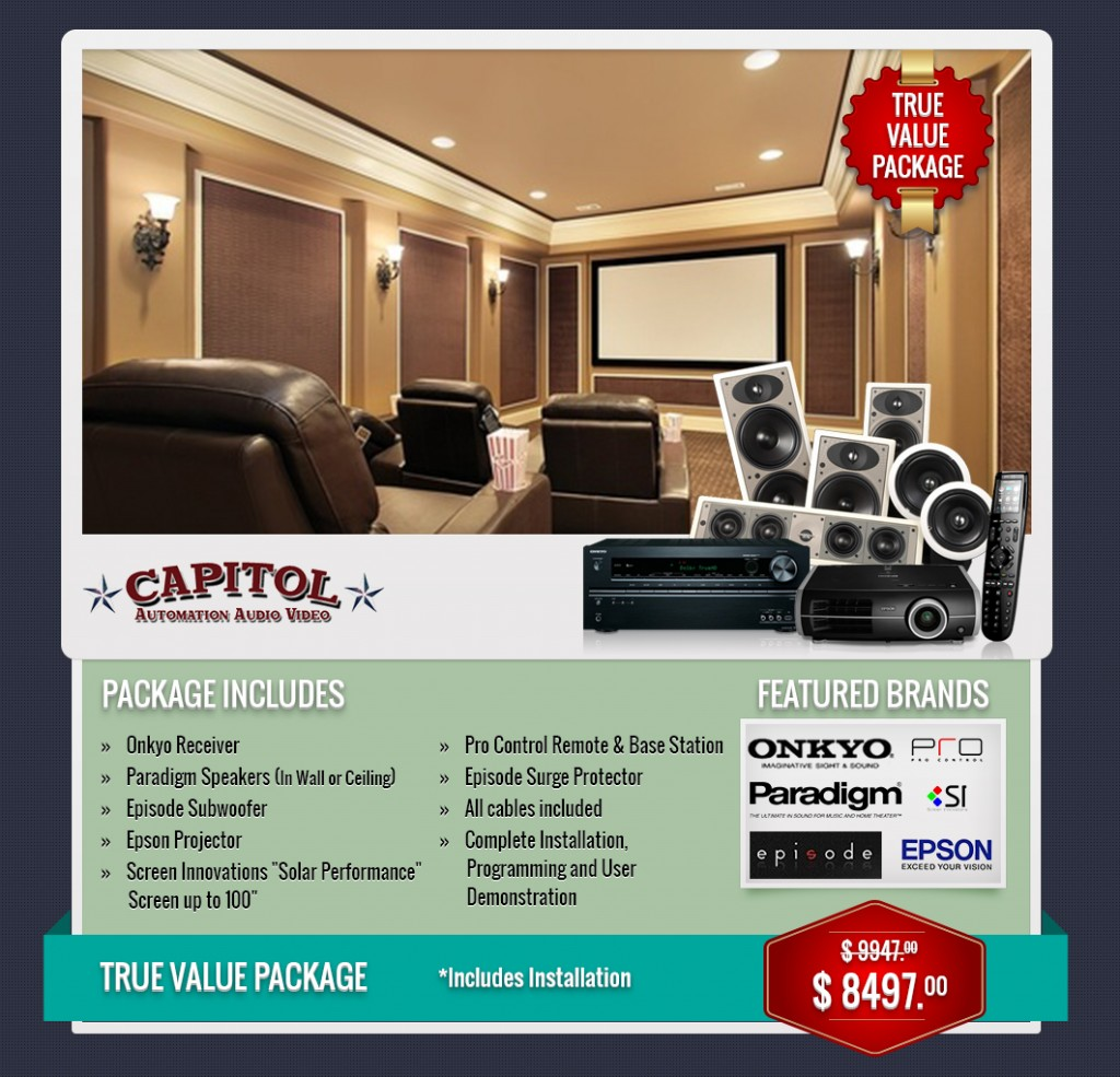 katy home theater packages discounts