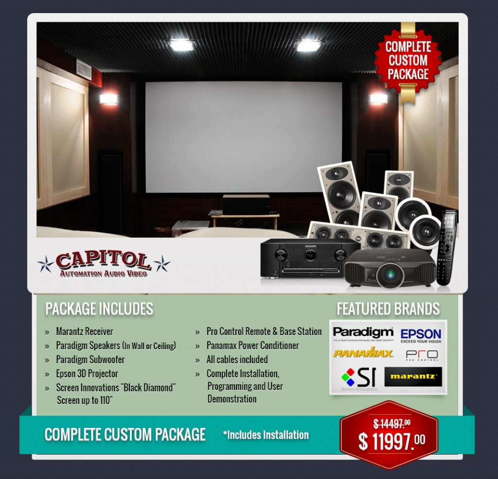 katy home theater professional installation