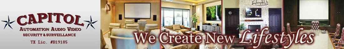 Home Theater & Automation Katy, TX | Media Room Design | Home Stereo Audio Video